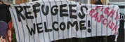 Hellersdorf: Refugees welcome!