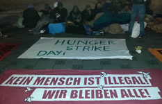 Flüchtlinge in München im Hungerstreik: Unsere Rechte wurden gestohlen