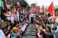 Bild zum Generalstreik in Indien von aituc (KP)