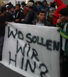"Lageso-Protest: ""Wo sollen wir hin?"""