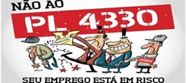 Protest gegen Outsourcing in Brasilien