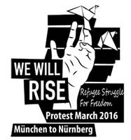 Non-Citizens vom Sendlinger Tor: Protestmarsch von München nach Nürnberg ab 8. Oktober 2016