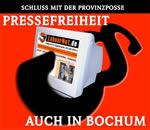 Pressefreiheit auch in Bochum!