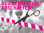 E-Petition gegen Residenzpflicht