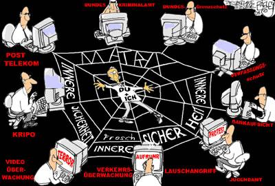 """Datenschutz - Grafik von """"Frosch"""""""