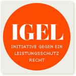 IGEL, die Initiative gegen ein Leistungsschutzrecht