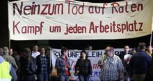 Statt Abbau gestalten – gewerkschaftlichen Widerstand organisieren. Kongress der Initiative zur Vernetzung der Gewerkschaftslinken 2013