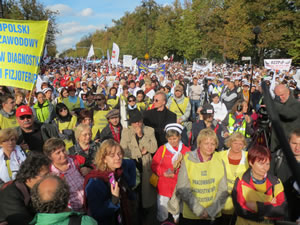 Gesundheit ist keine Ware –Demo in Warschau