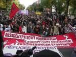 6000 bei der Refugee-Protest-Demo