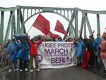 Refugee Proteste erreichen Berlin