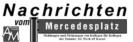 Nachrichten vom Mercedesplatz