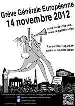 Grève Générale Européenne in Paris