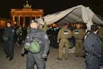 Polizei geht erneut gegen protestierende Flüchtlinge in Berlin vor