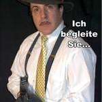 Bild aus der Münsteraner Erwerbslosenzeitung Sperre