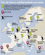 Generalstreik in Südeuropa