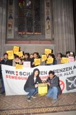 Kirchenbesetzung in Wien