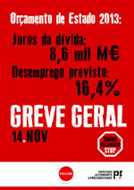 N14 - Generalstreik in Portugal