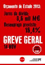 N14 - Generalstreik in Portugal