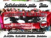 Soli-Demo für Tim in Dresden