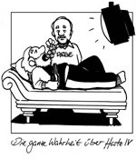 Die ganze Wahrheit über Hartz IV. Cartoon von Findus