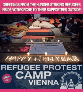 Refugee Camp Vienna