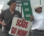 Scabs go home