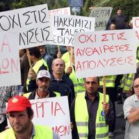Streik der Bauarbeiter in Zypern