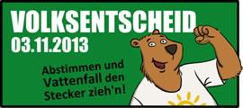 Volksbegehren über die Rekommunalisierung der Berliner Energieversorgung