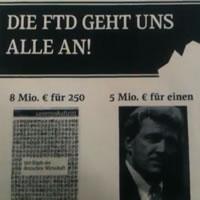 Bild des Flugblatts der FTD Kollegen vom 12.2.2012 zu den stockenden Sozialplanverhandlungen