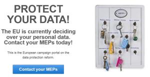 Brüssel entscheidet über Eure Daten!