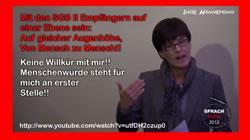 Solidarität mit mit Inge Hannemann