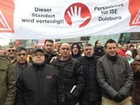 Widerstand bei ISE Duisburg