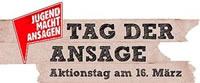 Aktionstag 16.3.2013: DGB-Jugend macht Ansagen