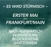 1. Mai Frankfurt - No Pasaran dem Faschismus