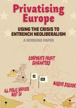 Privatising Europe / Privatisierungen in Europa beim Transnational Institute (TNI) of Policy Studies