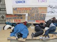 Tunesien: Flüchtlinge im Hungerstreik