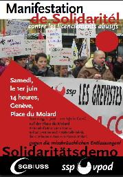Krankenhausstreik 2013 in Neuenburg