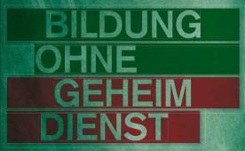 Bildung ohne Geheimdienst: Broschüre der Rosa-Luxemburg-Stiftung 2013