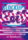 Blockupy Zeil.  Blockupy in der Einkaufsmeile