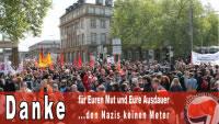 Karlsruhe, 25.5.13: Naziaufmaufmarsch verhindert – Danke