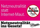ePetition für Netzneutralität