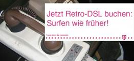 Retro-DSL - Drosselkom-Prostest