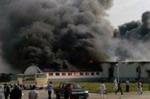 brand in fleischfabrik