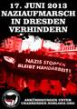 [DD] Aufruf gegen den Naziaufmarsch am 17.06.