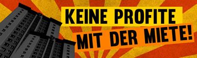 Keine Profite mit der Miete: Bundesweite Aktionswoche gegen steigende Mieten und Verdrängung