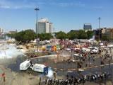 Proteste in Istanbul: Polizei räumt Taksim-Platz