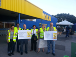 IBR Aktion bei IKEA Kaarst
