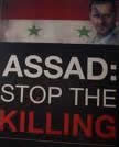 Assad: Stop the Killing