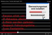 """Werbespot für die Demo """"Freiheit statt Angst"""""""