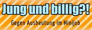 """""""Jung und billig""""-Broschüre zu Minijobs"""